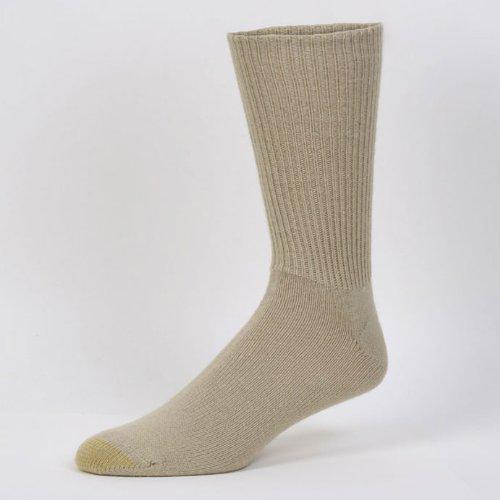 Gold Toe Men Fluffies Sock (Socks Stretch Toe Gold Toe)