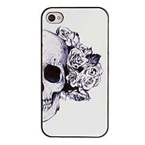 Skull and iPhone 4/4 black box decorative pattern of PC hard disk box rose ear