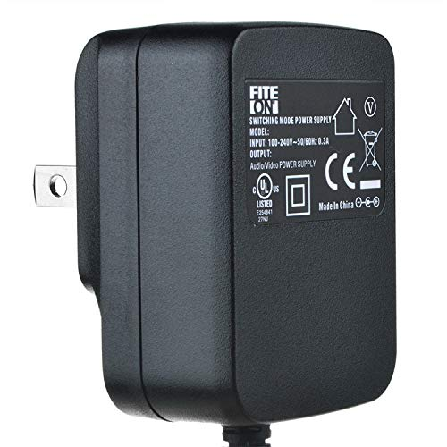 FITE ON UL Listed AC Adapter for Proform GL 125 385 CSX SR-30 55 GR 80 Recumbent Bike Power Supply