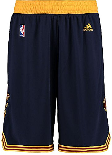 Adidas Cleveland Cavaliers Navy Embroidered Swingman Basketball Shorts