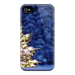 Fashionable Dzy90JUSJ Iphone 4/4s Case Cover For Christmas Tree Protective Case