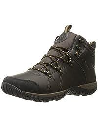 Columbia Men's Peakfreak Venture Mid Omni-Heat Waterproof Wide-W Hiking Boots, Cordovan/Caramel