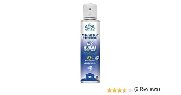 Desinfectante, Purificar el aire spray 200ml, 43 de aceites esenciales naturales, bactericida, fungicida, viricida H1N1: Amazon.es: Salud y cuidado personal