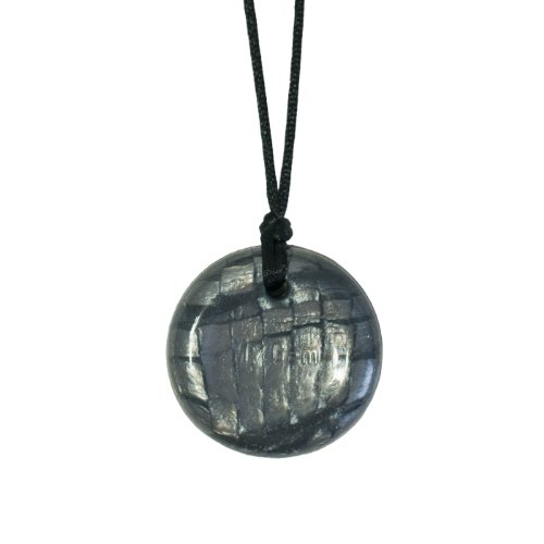 Disc Pendant - Pearl Storm - Chew Necklace for Sensory, Oral Motor, Anxiety, Autism, ADHD