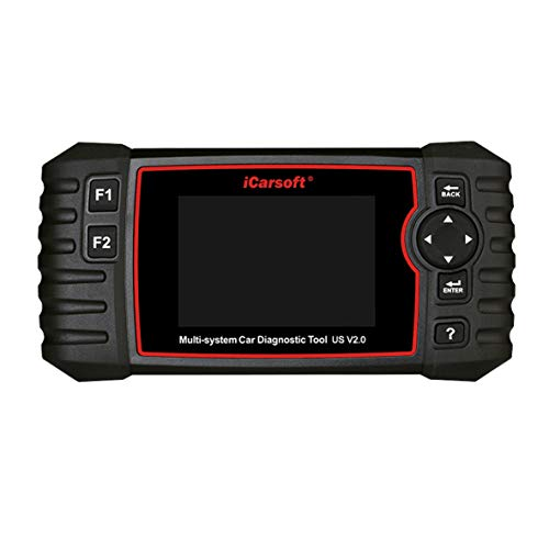 iCarsoft US V2.0 Diagnostic Scan Tool for American Vehicles Ford/GM (Cherolet/Buick/Cadillac/GMC)/Chrysler/Jeep/Holden +Oil Reset +EPB+BMS+DPF+SAS+ETC+BLD+INJ
