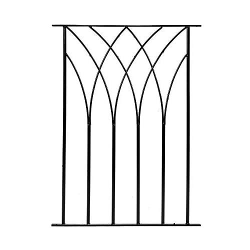 Bali Modern Metal Deck Decking Fence Fencing Panel DPBS