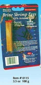 Ocean Star International AOSI0115 Osi Brine Shrimp Eggs Pet Food, 3.5-Ounce