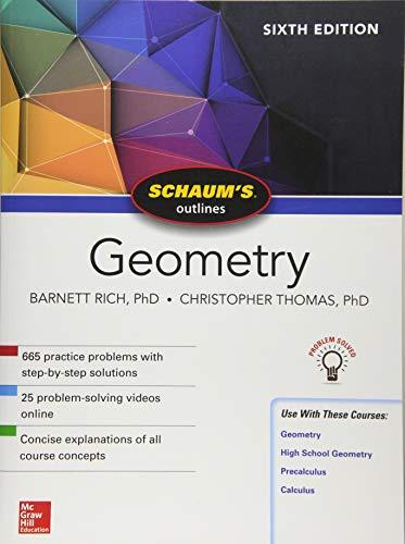 Schaum's Outline of Geometry, Sixth Edition (Schaum's Outlines)