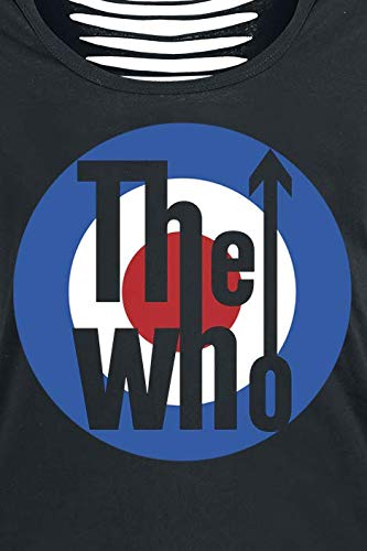 The Logo Negro Who Camiseta The Who nFq6vZYY