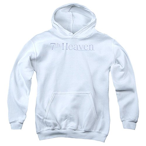 Price comparison product image 7Th Heaven - Youth 7Th Heaven Logo Pullover Hoodie,  Size: X-Large,  Color: White