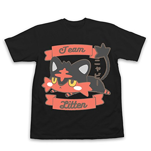 Litten Pokemon T-Shirt (Large, - Order Has Shipped