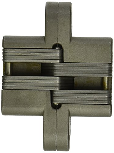 SOSS 220SS Stainless Steel 20/90/180 Min. Fire Rated Hinge for 2'' Doors, Satin Stainless Steel Exterior Finish by SOSS