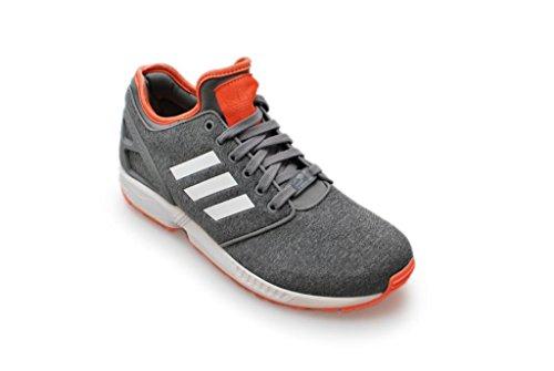 Da donna Adidas–ZX Flux NPS 2.0–Grigio Bianco Rosso–b34008