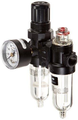 Dixon PTH-200AG Norgren Series Micro Mate Combination Unit, 10 SCFM, 1/4 Port Size, 5-125 PSI by Dixon Valve & ()