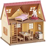 Calico Critter Cozy Cottage Starter Home - Versatile and Fully Furnished - Build Skills with Imaginative Play - For Ages 3 and Up