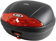 Bauleto Givi E450n Simply Monolock 45lts Lente Vermelha