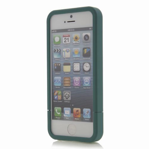 Hard Candy HarvestCraft Slider Case Coque pour iPhone 5 Teal Blue SLPH5TLBLU