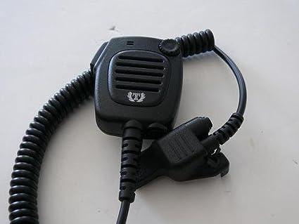 Titan Heavy Duty Speaker Mic Motorola XTS3000 XTS5000 RMN5089A COMM II NEW!!