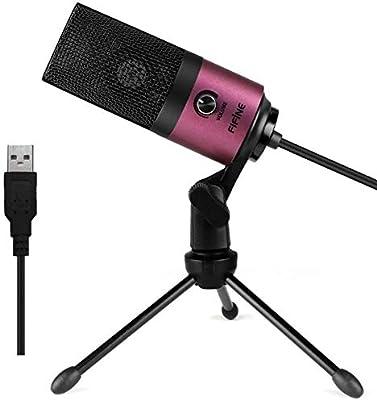 JYSL La Grabación del Condensador del Micrófono del USB del Metal ...