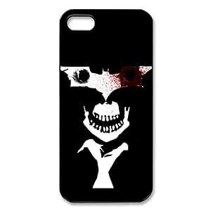 CTSLR Movie & TV Series Protective Hard Back Plastic Case Cover for iPhone 5 - 1 Pack - Joker Batman - 8