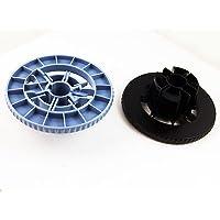 1 Pair (blue+black) Spindle Hub for HP DesignJet 500 510 800 500ps 800ps C7769-40169, C7769-40153