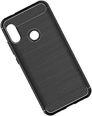 QUICK MEDIA ELECTRONIC - Carcasa/Funda Xiaomi A2 Lite, Negra ...