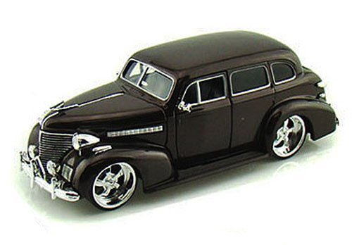 Model Deluxe Chevy (Jada 1939 Chevy Master Deluxe, Brown Toys Bigtime Kustoms 90224 - 1/24 scale Diecast Model Toy Car, but NO BOX)