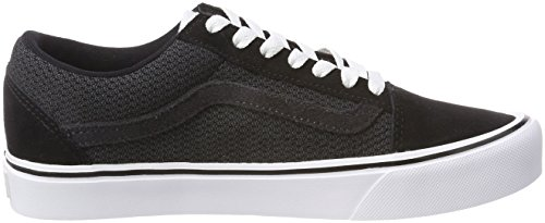 Mesh Skool Baskets Old Suede Lite Noir Vans Mixte Adulte 056qxw