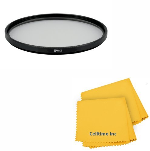 52MM UV Elite Filter for NIKON D7100 D5200 D5100 D5000 D3200 D3100 D3000 D90 D80 DSLR Cameras + Celltime Elite Cleaning Cloth