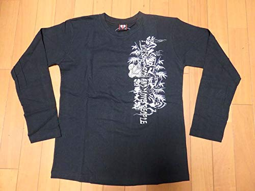 西郷隆盛長袖Tシャツ Mサイズ 黒色の商品画像