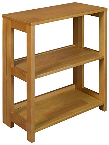 (Regency Flip Flop Bookcase, 28 x 22-inches, Medium Oak)
