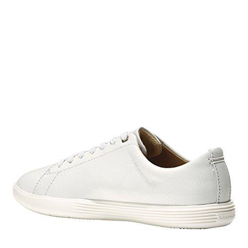 Sneaker Crosscourt Bianco Brillante In Pelle Bianca Per Donna