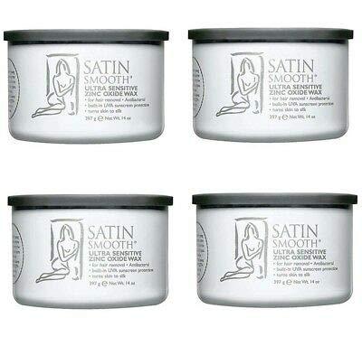 Wax Hard Gold (Satin Smooth Zinc Oxide Wax 4 Pack)