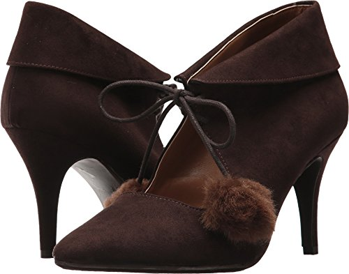 chocolate brown pumps - 7