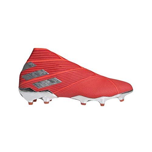 adidas Nemeziz 19+ FG Cleat - Men's Soccer Active Red/Silver/Solar Red
