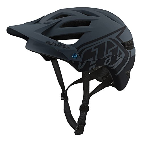 Troy Lee Designs Adult | All Mountain | Mountain Bike | A1 Classic Helmet with MIPS (X-Large/XX-Large, Gray)