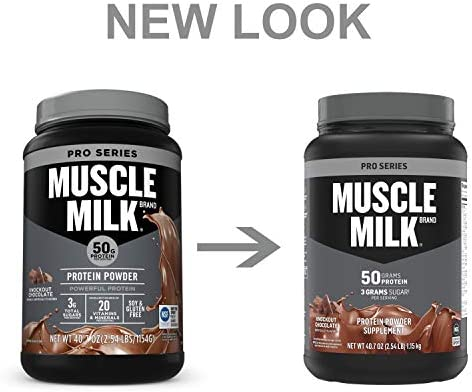 Muscle Milk Pro Series Protein Powder, Knockout Chocolate, 50g Protein,  2.54 Pound: Buy Online at Best Price in UAE - Amazon.ae