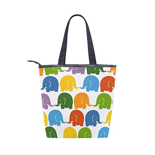 Bennigiry De Para Totalbag Talla Única 001 Multicolor Tela Bolso Mujer vttwrqR