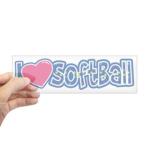 CafePress I Love Softball 10