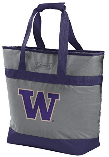 (NCAA Washington Huskies Unisex 07883108111NCAA 30 Can Tote Cooler (All Team Options), Blue, X-Large)