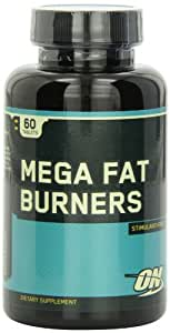 Amazon.com: OPTIMUM NUTRITION Mega Fat Burners, 60 Tablets
