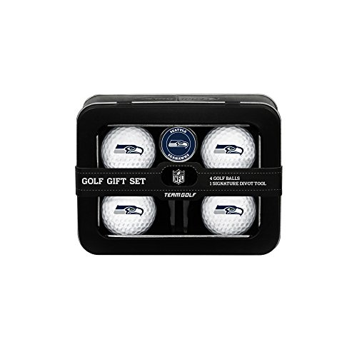 NFL-Seattle-Seahawks-Golf-Ball-Set-of-4