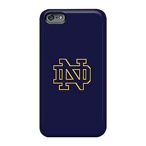TrevorBahri Apple Iphone 6s Plus Shock-Absorbing Hard Phone Covers Allow Personal Design Attractive Notre Dame Logo Pattern [pBw3249cKqN]