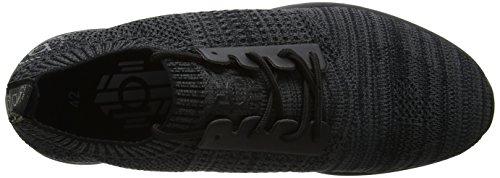 Bugatti Herren 341305626900 Slip On Sneaker Schwarz (Schwarz)