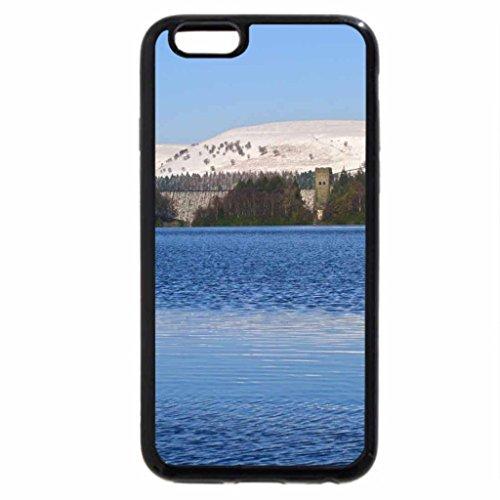 iPhone 6S Case, iPhone 6 Case (Black & White) - dam in winter