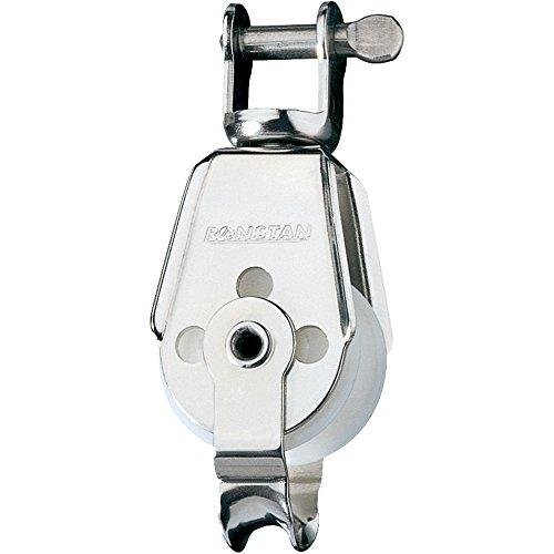 Ronstan Series 30 Utility Block - Single, Becket, Swivel Shackle Head [RF567]