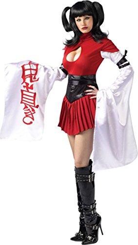 Fun World Costumes Samurai Geisha Medium/Large 10-14 - Scary Geisha Halloween Costume