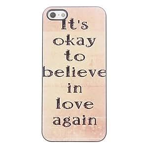 HP DF It's Okay Design Aluminium Hard Case for iPhone 4/4S