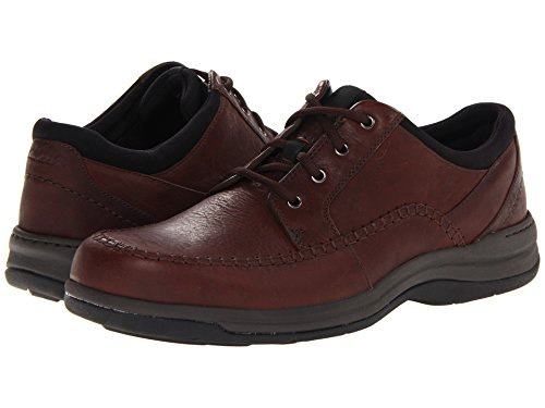 Image of the Clarks Men's Portland 2 Tie Casual Shoe,Brown Leather,15 M US
