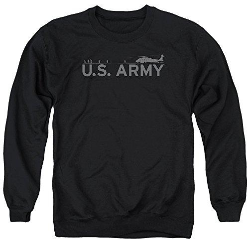 Army - Helicopter Adult Crewneck Sweatshirt